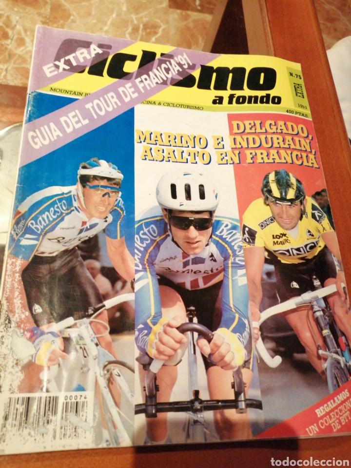 CICLISMO A FONDO REVISTA N°75 (Coleccionismo Deportivo - Revistas y Periódicos - otros Deportes)