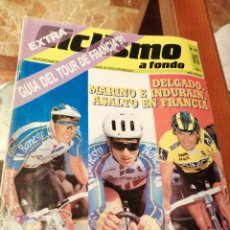 Coleccionismo deportivo: CICLISMO A FONDO REVISTA N°75. Lote 218742630