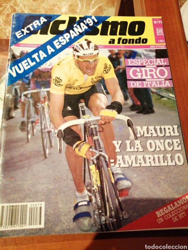 CICLISMO A FONDO REVISTA N°73 - VUELTA ESPAÑA 1991 MAURI (Coleccionismo Deportivo - Revistas y Periódicos - otros Deportes)