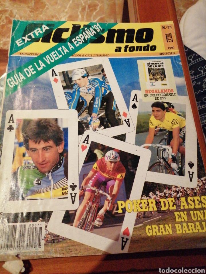 CICLISMO A FONDO REVISTA N°71 (Coleccionismo Deportivo - Revistas y Periódicos - otros Deportes)