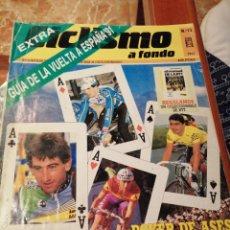 Coleccionismo deportivo: CICLISMO A FONDO REVISTA N°71. Lote 218742922
