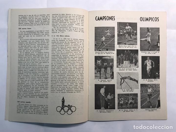 Coleccionismo deportivo: STADIUM, Boletín de Divulgación del Deporte Olimpico. Juegos Olímpicos de Londres (a.1948) - Foto 4 - 218746077