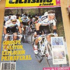 Collectionnisme sportif: REVISTA CICLISMO A FONDO Nº 55 MAYO 1990. Lote 219084850