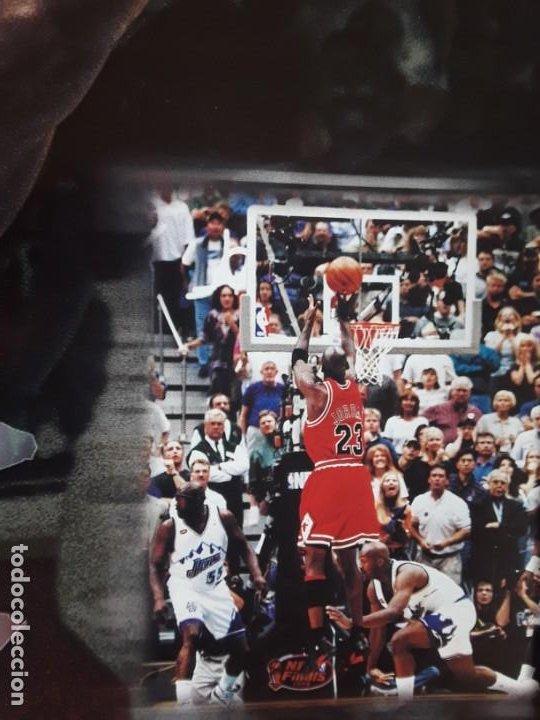 Coleccionismo deportivo: POSTER MICHAEL JORDAN MEDIDAS 41 X55 CM NUEVO SIN USO +REVISTA GIGANTES BASKET Nº 690 AÑO 1999 - Foto 2 - 219283775