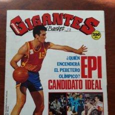 Coleccionismo deportivo: GIGANTES DEL BASKET Nº 300 AÑO 1991 EPI POSTER MARK DAVIS. Lote 219292312