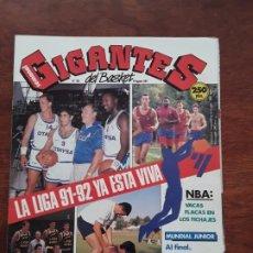 Coleccionismo deportivo: GIGANTES DEL BASKET Nº 302 AÑO 1991 POSTER GRANGER HALL. Lote 219292771