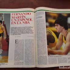 Coleccionismo deportivo: FERNANDO MARTIN PORTLAND POSTER NUEVO SIN USO REVISTA AÑO 1986 POSTER 40 X 56 CM. Lote 219293271