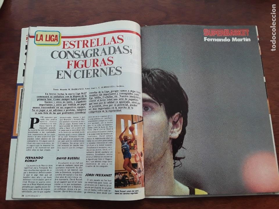 Coleccionismo deportivo: FERNANDO MARTIN PORTLAND POSTER NUEVO SIN USO REVISTA AÑO 1986 POSTER 40 X 56 CM - Foto 6 - 219293271