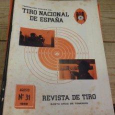 Coleccionismo deportivo: TENERIFE, REVISTA TIRO NACIONAL DE ESPAÑA, AGOSTO 1959, Nº 31. Lote 219321833