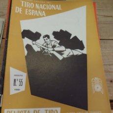 Coleccionismo deportivo: TENERIFE, REVISTA TIRO NACIONAL DE ESPAÑA, AGOSTO 1961, Nº 55. Lote 219322085