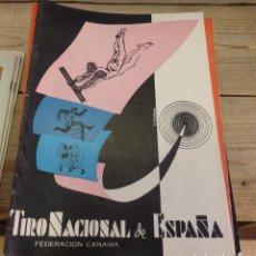 Coleccionismo deportivo: TENERIFE, REVISTA TIRO NACIONAL DE ESPAÑA, JULIO 1962, Nº 66. Lote 219322176