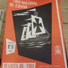 Coleccionismo deportivo: TENERIFE, REVISTA TIRO NACIONAL DE ESPAÑA, OCTUBRE 1961, Nº 57. Lote 219322240