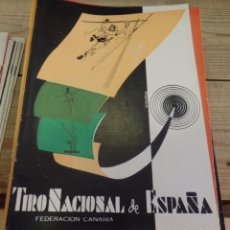 Coleccionismo deportivo: TENERIFE, REVISTA TIRO NACIONAL DE ESPAÑA, MAYO 1962, Nº 64. Lote 219322322
