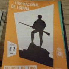 Coleccionismo deportivo: TENERIFE, REVISTA TIRO NACIONAL DE ESPAÑA, MAYO 1961, Nº 52. Lote 219322513