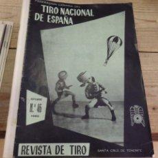 Coleccionismo deportivo: TENERIFE, REVISTA TIRO NACIONAL DE ESPAÑA, NOVIEMBRE 1960, Nº 46. Lote 219322682
