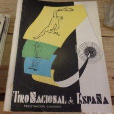 Coleccionismo deportivo: TENERIFE, REVISTA TIRO NACIONAL DE ESPAÑA, ENERO 1962, Nº 60. Lote 219322772