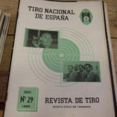 Coleccionismo deportivo: TENERIFE, REVISTA TIRO NACIONAL DE ESPAÑA, JUNIO 1959, Nº 29. Lote 219322922
