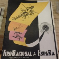 Coleccionismo deportivo: TENERIFE, REVISTA TIRO NACIONAL DE ESPAÑA, JUNIO 1962, Nº 65. Lote 219322983