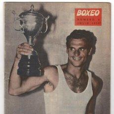 Coleccionismo deportivo: REVISTA BOXEO. JULIO 1959.. Lote 219431086