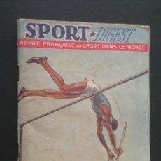 Coleccionismo deportivo: REVISTA DE DEPORTES - SPORT DIGEST. Lote 219486520