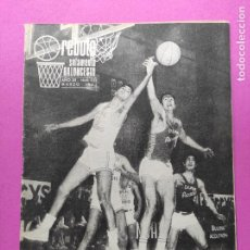 Coleccionismo deportivo: REVISTA REBOTE Nº 121 - SOLAMENTE BALONCESTO AÑO 1971 - BASKET BALANCE FINAL LIGA 70 71. Lote 219531253