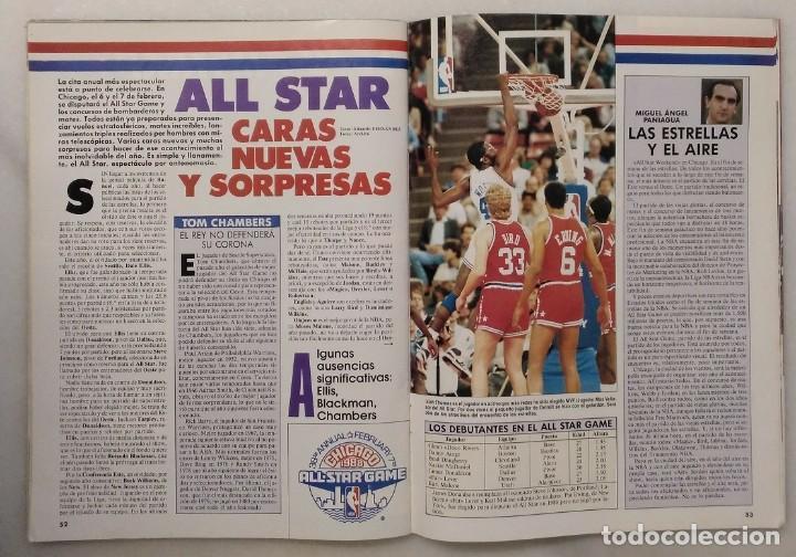 Coleccionismo deportivo: Colección de 115 de las 131 primeras revistas Gigantes del Basket (1985-88) + Especial Jordan - Foto 25 - 162988738