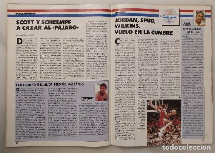 Coleccionismo deportivo: Colección de 115 de las 131 primeras revistas Gigantes del Basket (1985-88) + Especial Jordan - Foto 26 - 162988738