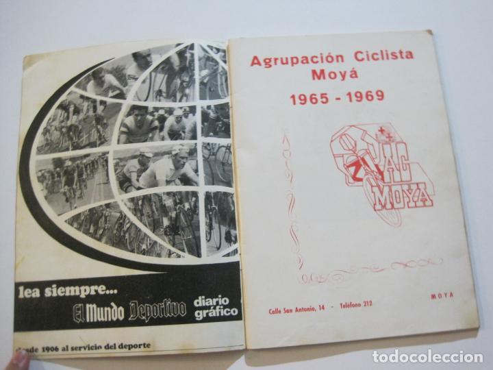 Coleccionismo deportivo: CICLISMO-V TROFEO SEBASTIAN CAMPRUBI-REVISTA PROGRAMA-AÑO 1969-VER FOTOS(V-22.289) - Foto 2 - 219896605