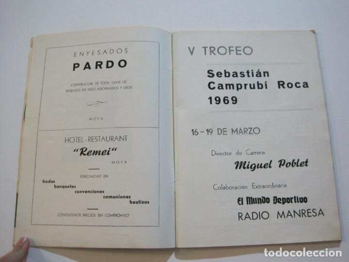 Coleccionismo deportivo: CICLISMO-V TROFEO SEBASTIAN CAMPRUBI-REVISTA PROGRAMA-AÑO 1969-VER FOTOS(V-22.289) - Foto 4 - 219896605
