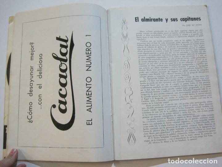Coleccionismo deportivo: CICLISMO-V TROFEO SEBASTIAN CAMPRUBI-REVISTA PROGRAMA-AÑO 1969-VER FOTOS(V-22.289) - Foto 9 - 219896605