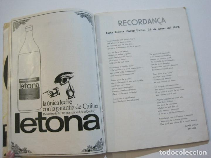 Coleccionismo deportivo: CICLISMO-V TROFEO SEBASTIAN CAMPRUBI-REVISTA PROGRAMA-AÑO 1969-VER FOTOS(V-22.289) - Foto 10 - 219896605