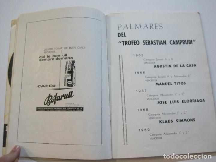 Coleccionismo deportivo: CICLISMO-V TROFEO SEBASTIAN CAMPRUBI-REVISTA PROGRAMA-AÑO 1969-VER FOTOS(V-22.289) - Foto 11 - 219896605