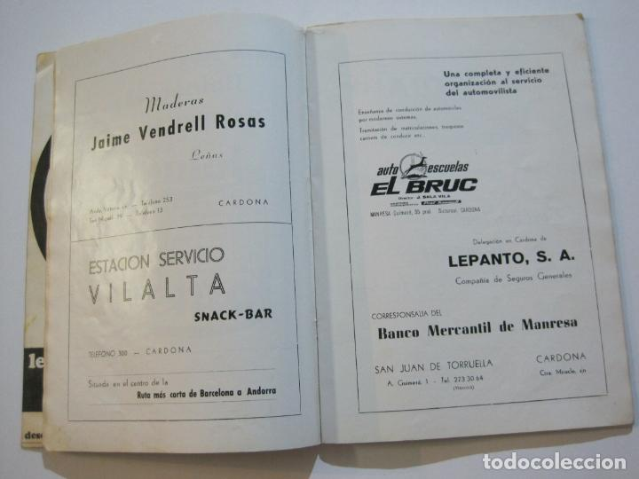 Coleccionismo deportivo: CICLISMO-V TROFEO SEBASTIAN CAMPRUBI-REVISTA PROGRAMA-AÑO 1969-VER FOTOS(V-22.289) - Foto 15 - 219896605