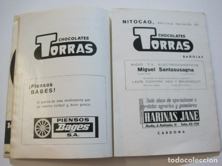 Coleccionismo deportivo: CICLISMO-V TROFEO SEBASTIAN CAMPRUBI-REVISTA PROGRAMA-AÑO 1969-VER FOTOS(V-22.289) - Foto 19 - 219896605