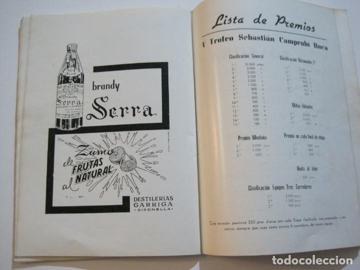 Coleccionismo deportivo: CICLISMO-V TROFEO SEBASTIAN CAMPRUBI-REVISTA PROGRAMA-AÑO 1969-VER FOTOS(V-22.289) - Foto 24 - 219896605