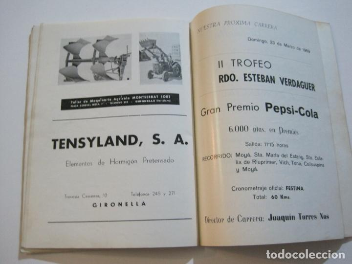 Coleccionismo deportivo: CICLISMO-V TROFEO SEBASTIAN CAMPRUBI-REVISTA PROGRAMA-AÑO 1969-VER FOTOS(V-22.289) - Foto 25 - 219896605