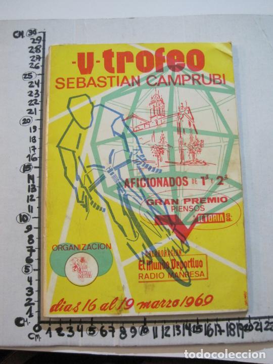 Coleccionismo deportivo: CICLISMO-V TROFEO SEBASTIAN CAMPRUBI-REVISTA PROGRAMA-AÑO 1969-VER FOTOS(V-22.289) - Foto 28 - 219896605