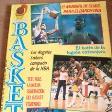 Coleccionismo deportivo: NUEVO BASKET JULIO/AGOSTO 1985. Lote 220245723