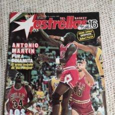 Collectionnisme sportif: ESTRELLAS DEL BASKET Nº 3 OCTUBRE 1987 - MILLONARIOS DE LA NBA - BALONCESTO. Lote 220274618