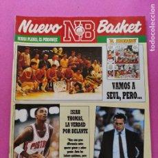 Collezionismo sportivo: REVISTA NUEVO BASKET Nº 177 1988 - PREOLIMPICO SEUL 88 - ISIAH THOMAS PISTONS NBA - PAT RILEY. Lote 220365051