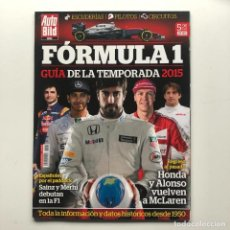 Coleccionismo deportivo: FORMULA 1 GUIA TEMPORADA 2015 . AUTO BILD. Lote 220667831
