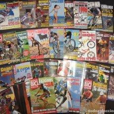 Coleccionismo deportivo: LOTE REVISTAS SOLO BICI, 27 NÚMEROS (1994-95-96-97) + 2 CATÁLOGOS ANUALES. Lote 221490516