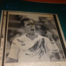 Coleccionismo deportivo: IVAN LENDL - FOTO REUTER - SATELITE ATLANTICO EFE - SEPTIEMBRE 1991. Lote 221733363