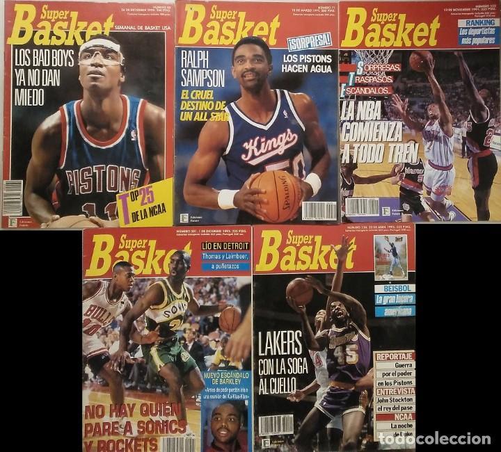 """Coleccionismo deportivo: Detroit Pistons - Revistas Gigantes, Superbasket y Revista NBA"""" - Campeones de 1990 y 2004 - Foto 16 - 203307278"""