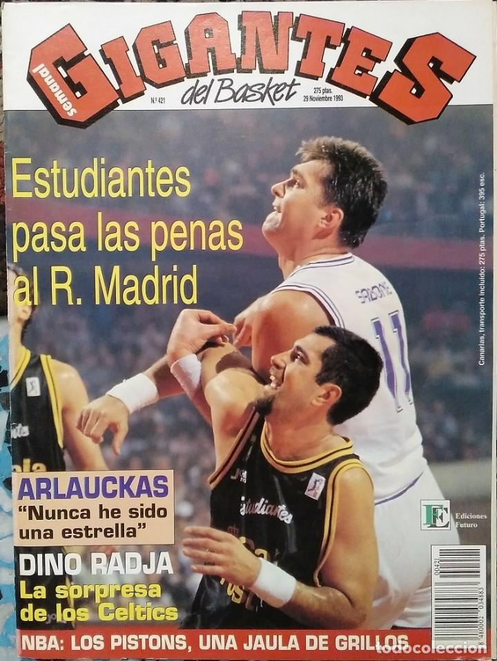 """Coleccionismo deportivo: Detroit Pistons - Revistas Gigantes, Superbasket y Revista NBA"""" - Campeones de 1990 y 2004 - Foto 17 - 203307278"""