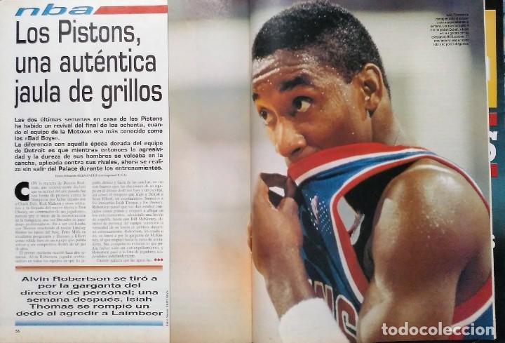"""Coleccionismo deportivo: Detroit Pistons - Revistas Gigantes, Superbasket y Revista NBA"""" - Campeones de 1990 y 2004 - Foto 18 - 203307278"""