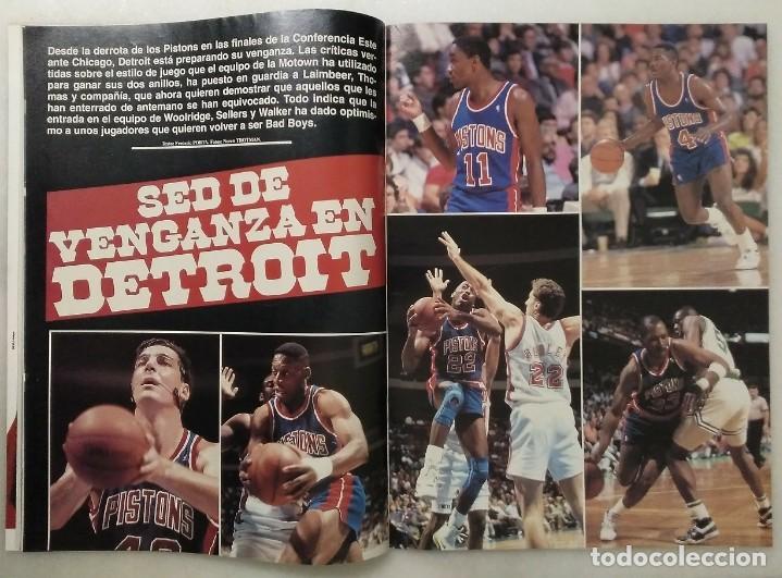 """Coleccionismo deportivo: Detroit Pistons - Revistas Gigantes, Superbasket y Revista NBA"""" - Campeones de 1990 y 2004 - Foto 19 - 203307278"""