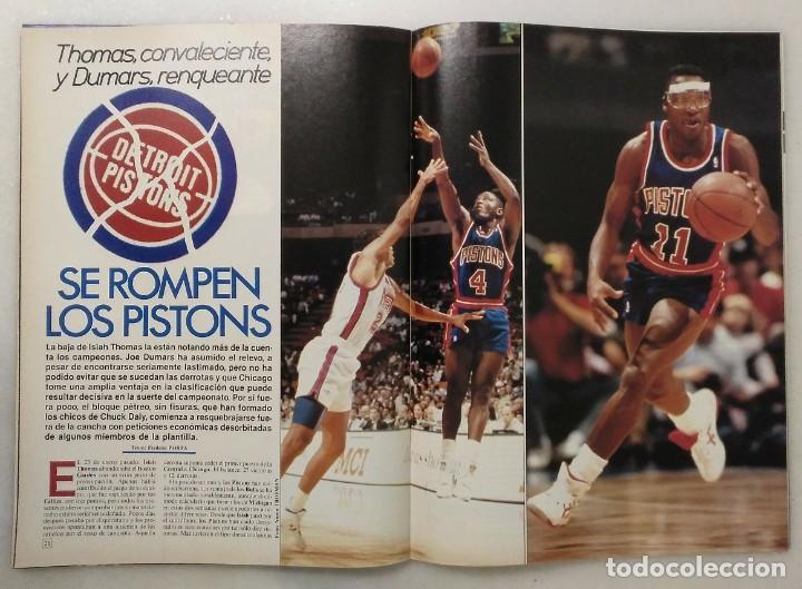 """Coleccionismo deportivo: Detroit Pistons - Revistas Gigantes, Superbasket y Revista NBA"""" - Campeones de 1990 y 2004 - Foto 21 - 203307278"""