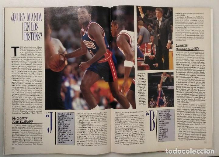 """Coleccionismo deportivo: Detroit Pistons - Revistas Gigantes, Superbasket y Revista NBA"""" - Campeones de 1990 y 2004 - Foto 22 - 203307278"""