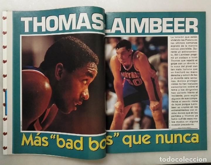 """Coleccionismo deportivo: Detroit Pistons - Revistas Gigantes, Superbasket y Revista NBA"""" - Campeones de 1990 y 2004 - Foto 23 - 203307278"""